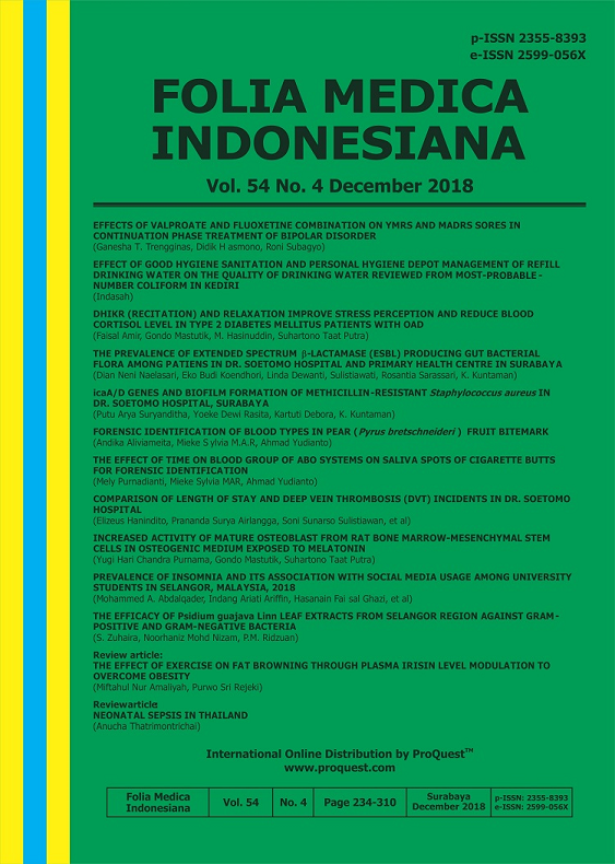 Folia Medica Indonesiana