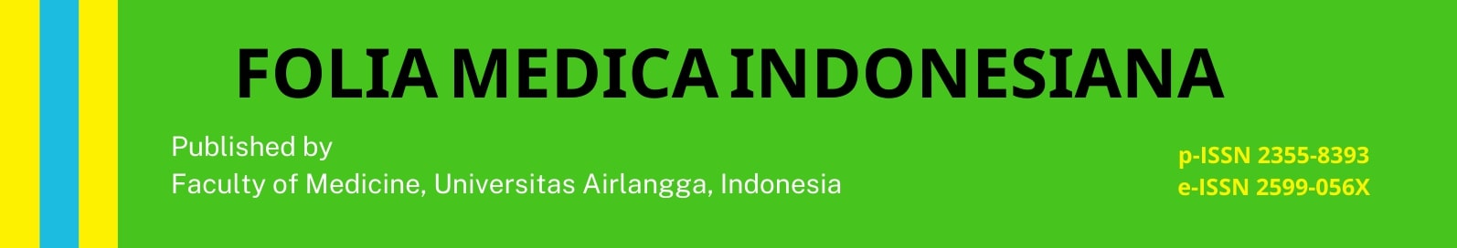 Folia Medica Indonesia