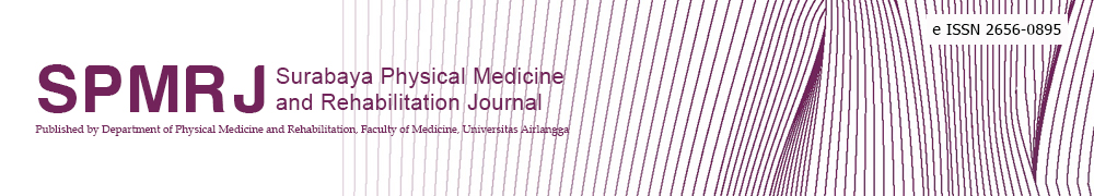 surabaya physical medicine & rehabilitation journal