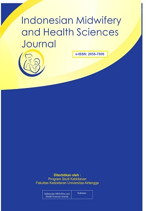 Indonesian Midwifery and Health Sciences Journal