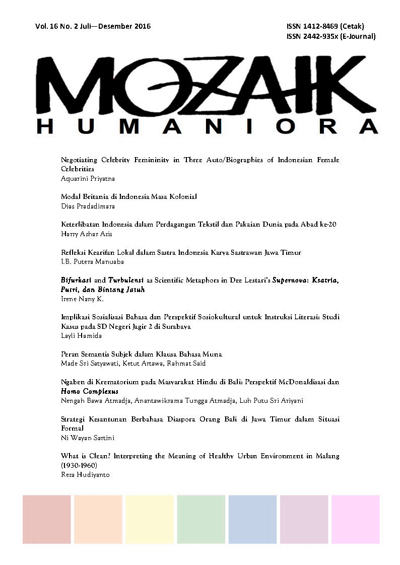 Mozaik Humaniora