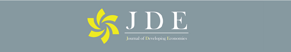 JOURNAL OF DEVELOPING ECONOMIES