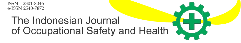 The Indonesian Journal of Occupational Safety and Health